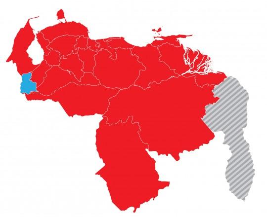 Estados con mayoría de alcaldias revolucionarias