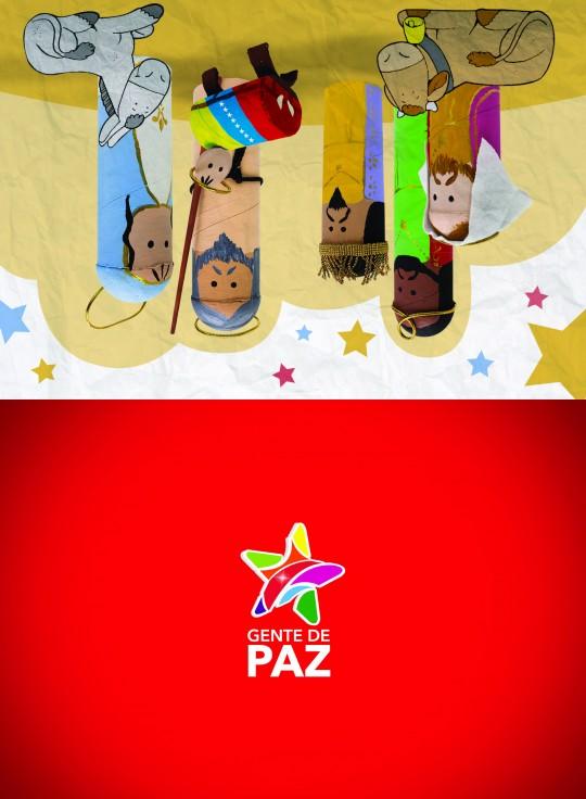 Postal Navidad 2013 Delcy Rodriguez (Tiro)